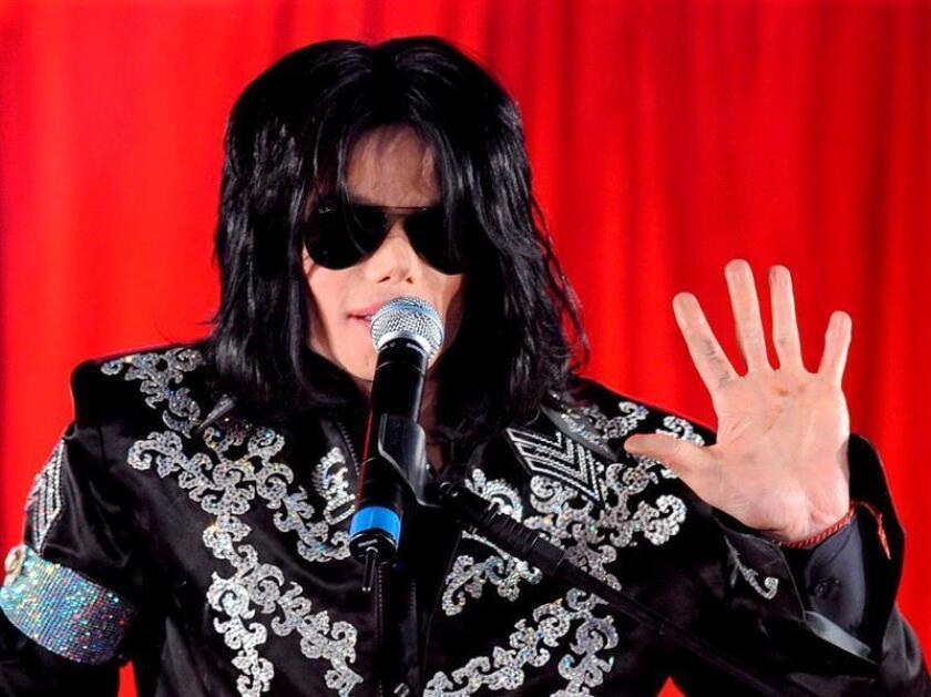 El cantante estadounidense Michael Jackson. EFE/STR