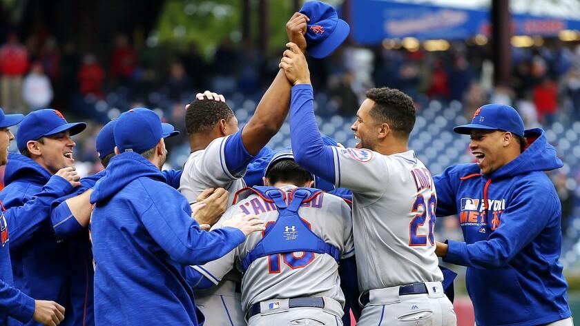 Mets celebrates