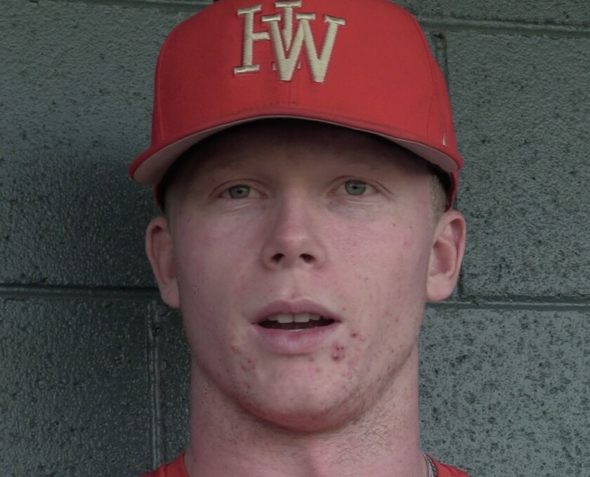 Pete Crow-Armstrong of Harvard-Westlake said he was disappointed when learning about the Astros' cheating scandal.