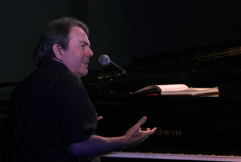 Jimmy Webb is returning to MacArthur Park on July 9 to sing