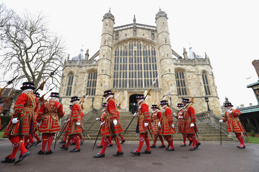 Royal Maundy Service At St George's Chapel Windsor