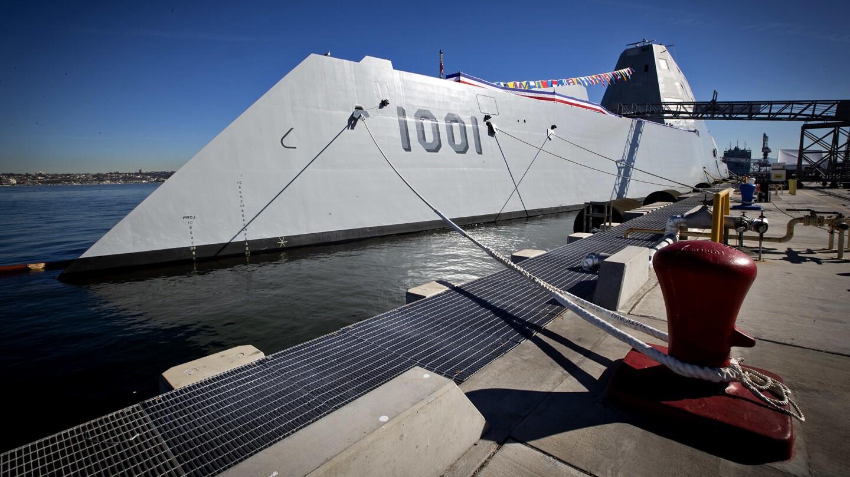 New U.S. Navy destroyer Michael Monsoor