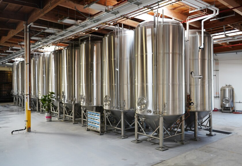 Boochcraft's new brewery space in Chula Vista.