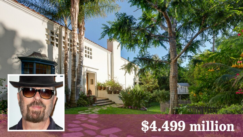 Dave Stewart of Eurythmics fame has listed a home in Toluca Lake at $4.499 million.