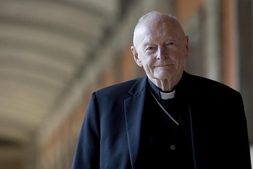 Cardinal Theodore Edgar McCarrick, shown in Rome in 2013.