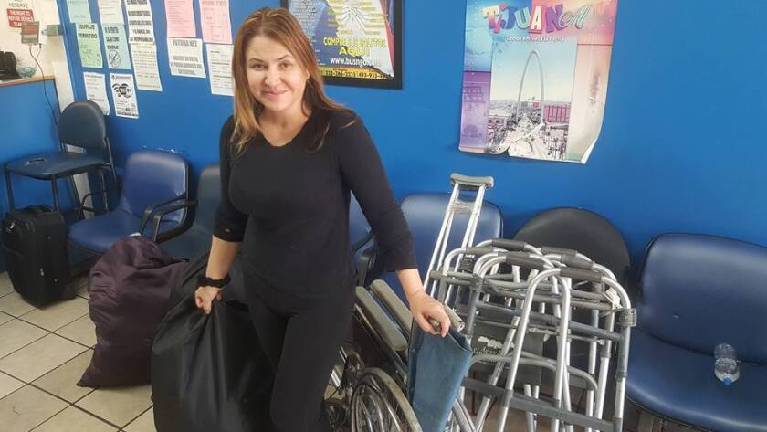 Antes de llegar al Congreso de Zacatecas, María Guadalupe Adabache realizó por 12 años viajes para entregar andaderas, cobijas, ropa y aparatos auditivos a las personas más necesitadas.