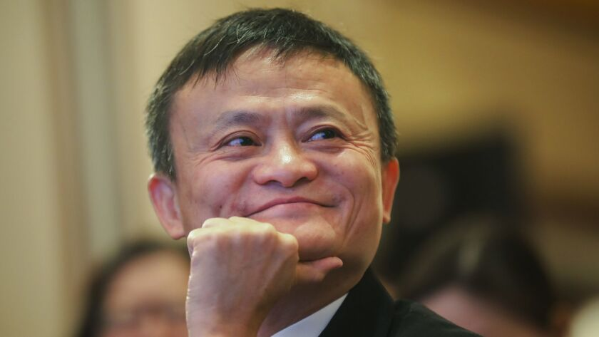Jack Ma, who founded e-commerce giant Alibaba Group and helped to launch China's online retailing boom, announced Monday that he will step down as the company's chairman next September and will be succeeded by CEO Daniel Zhang.