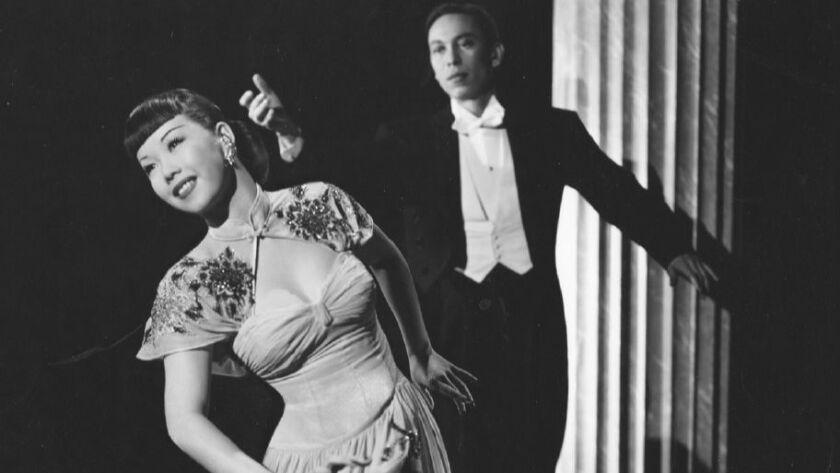 The dancing duo, the Tai Sings: Mai Tai Sing and Wilbur Tai Sing (CA. 1942) (Courtesy of Arthur Don