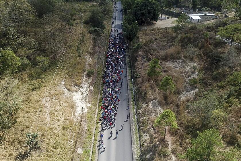 Guatemala Migrant Caravan