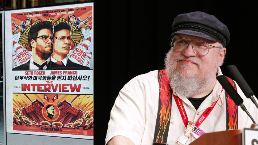 George R.R. Martin and The Interview