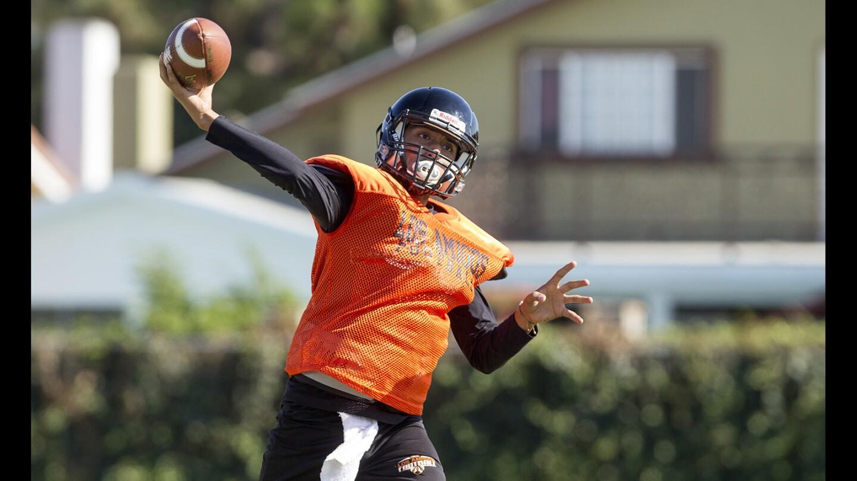 Photo Gallery:  Los Amigos High football practice