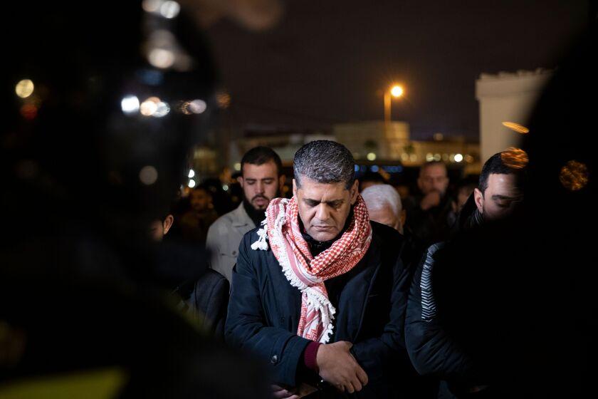 Jordanians protest Trump's Mideast peace plan