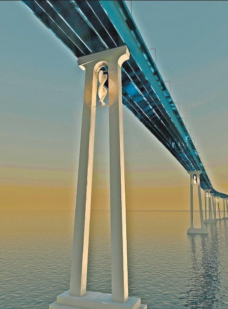 San Diego-Coronado Bridge Lighting Proposals