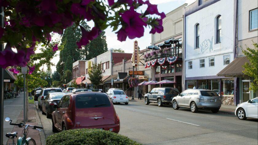Hillsboro, OR - Downtown Hillsboro.