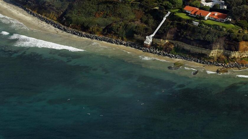 Swami's Beach in Encinitas. (K.C. Alfred)