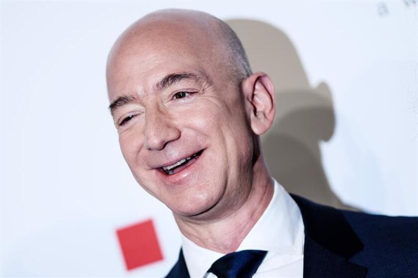 Amazon CEO Jeff Bezos attends the Axel Springer Award 2018, in Berlin, Germany, 24 April 2018. EFE/EPA/FILE