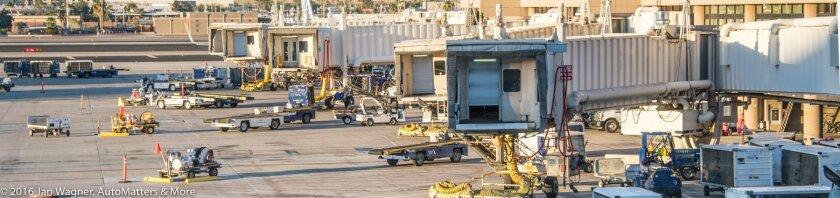 No planes at the gates