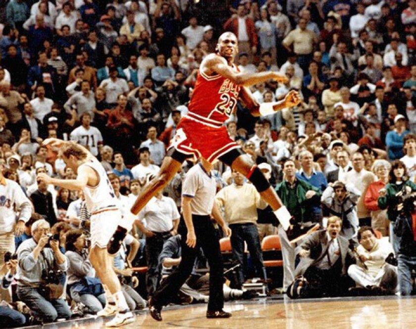 The greatest on the greatest: Jim Murray on Michael Jordan