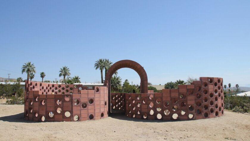 Julian Hoeber at Desert X