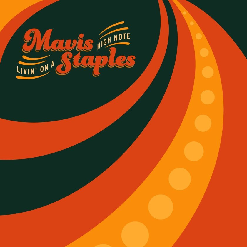 """This CD cover image released by Anti- shows """"Livin' On A High Note,"""" by Mavis Staples. (Anti- via AP)"""