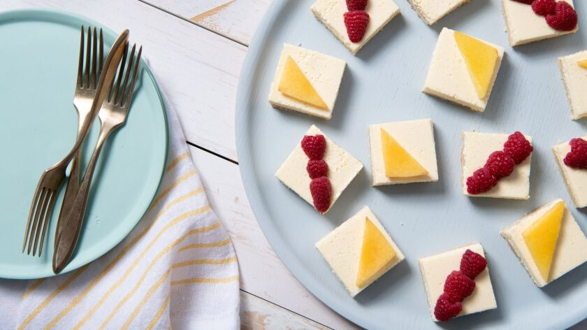 LOS ANGELES, CA-June 6, 2019: Lemon Bars cooked and styled by Genevieve Ko, prop styled by Joni Noe