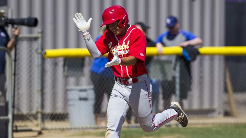 Cathedral Catholic, led by shortstop Danny Becerra, will open the Lions Tournament against San Marcos in the new Open Division.