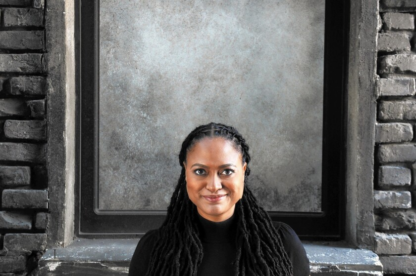 "Director Ava DuVernay's ""Selma"" is nominated for two Oscars."