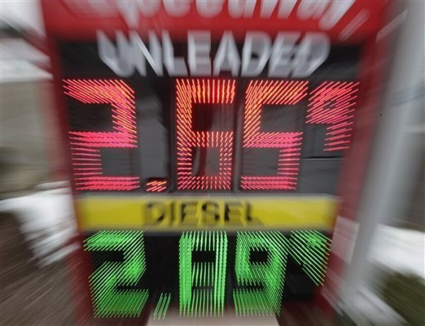 Cleveland Gas Prices >> Gas Prices Down 7 Straight Days Crude Falls Again The San