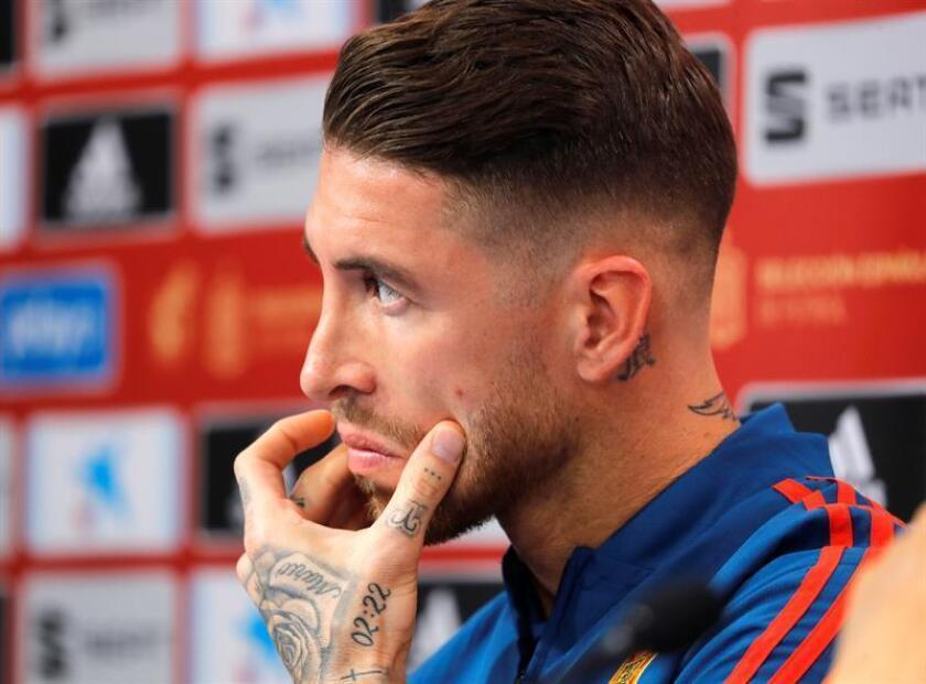 El jugador de fútbol Sergio Ramos. EFE/Archivo