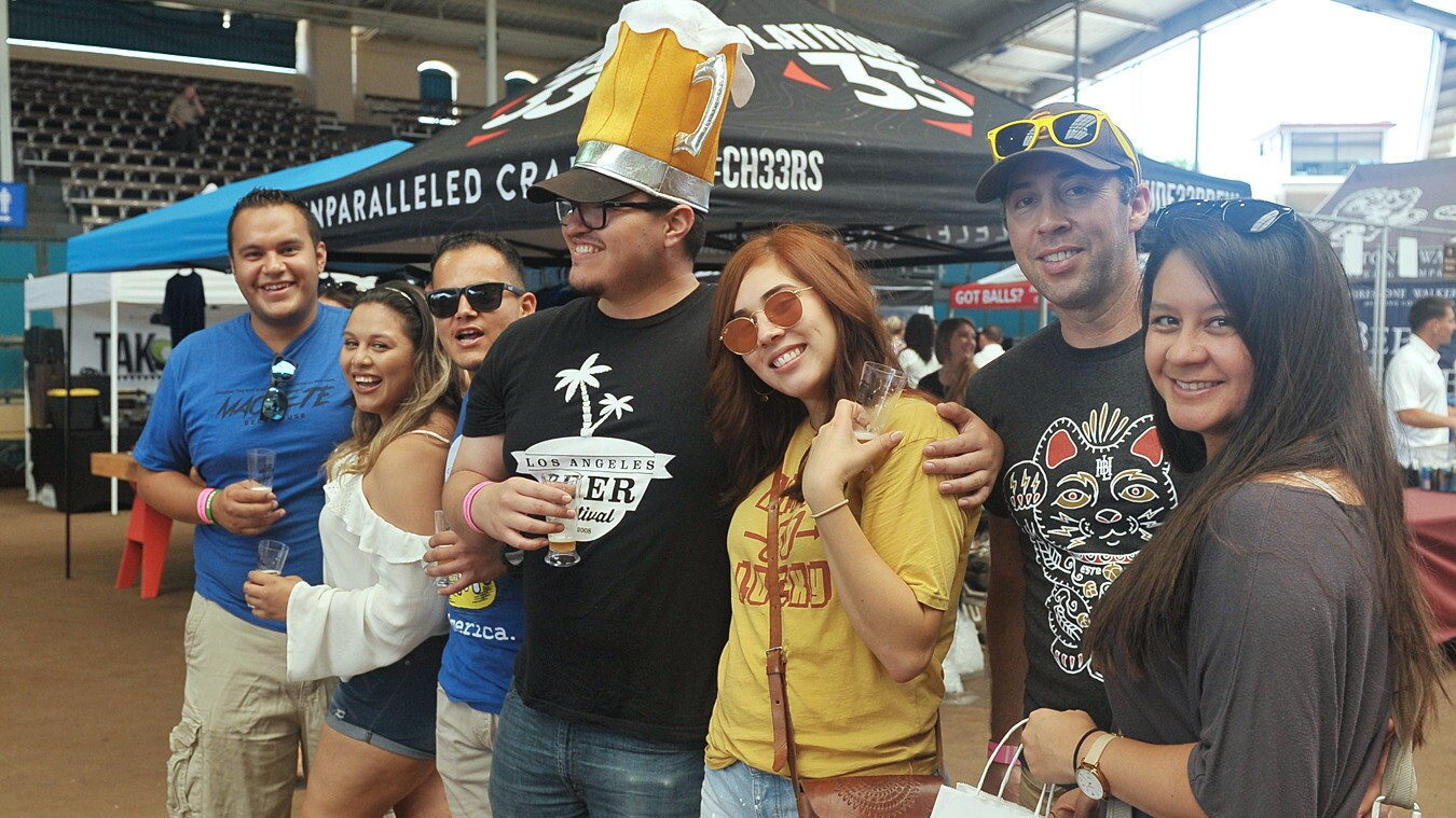 It was a global drinking event at the San Diego International Beer Festival at the San Diego County Fair on Friday, June 15, 2018.