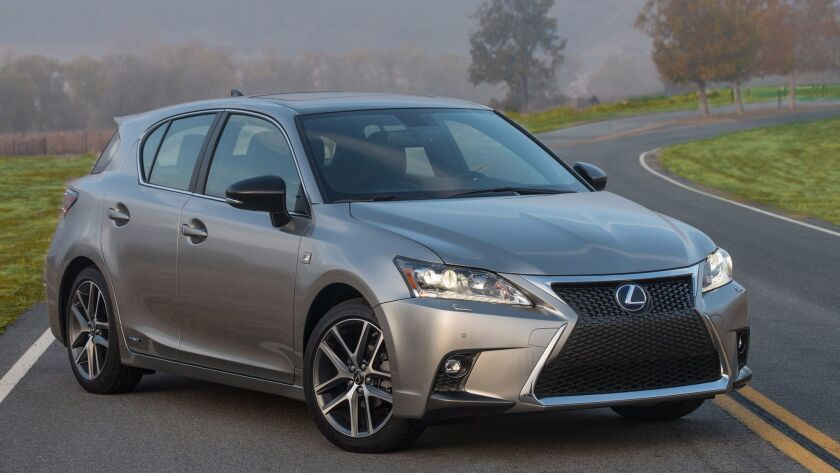 Lexus' least-expensive model, the CT 200h hybrid blends willing road manners, hatchback versatility