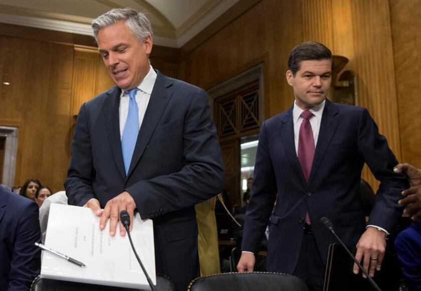 EEUU reafirma a Ucrania su disposición a endurecer la presión contra Rusia