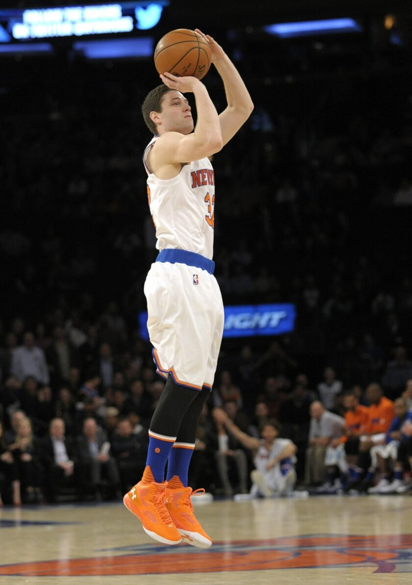 save off 3729c 89fc7 Knicks sign Jimmer Fredette to 10-day contract - The San ...