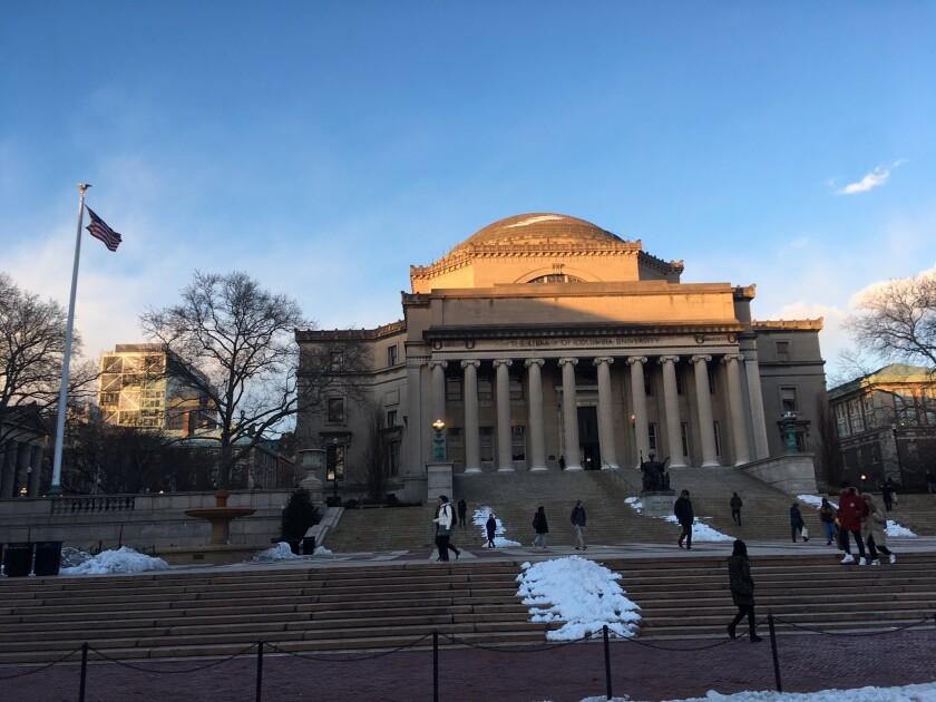 La Universidad de Columbia es una de las más prestigiosas en Estados Unidos y una de las más costosas.