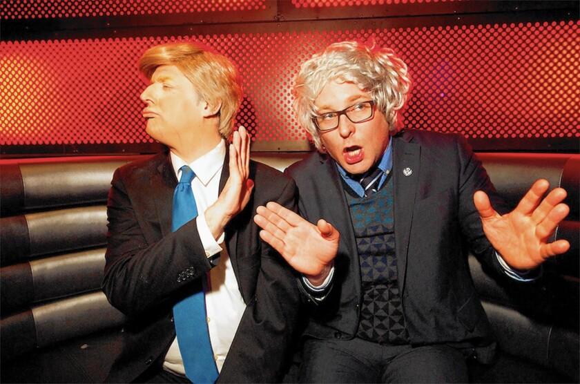 Trump Sanders Show