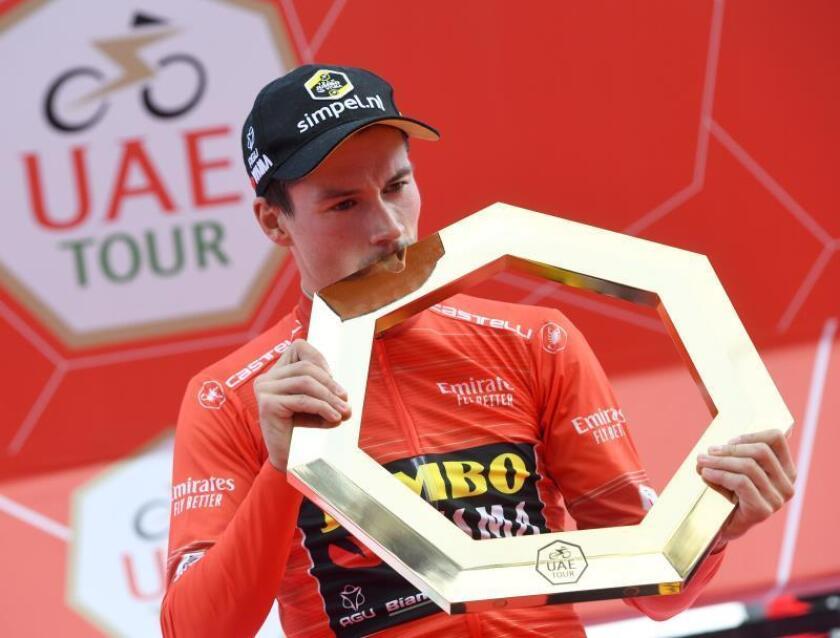 El esloveno Primoz Roglic (Jumbo Visma) se ha proclamado rey del Tour de los Emiratos EPA