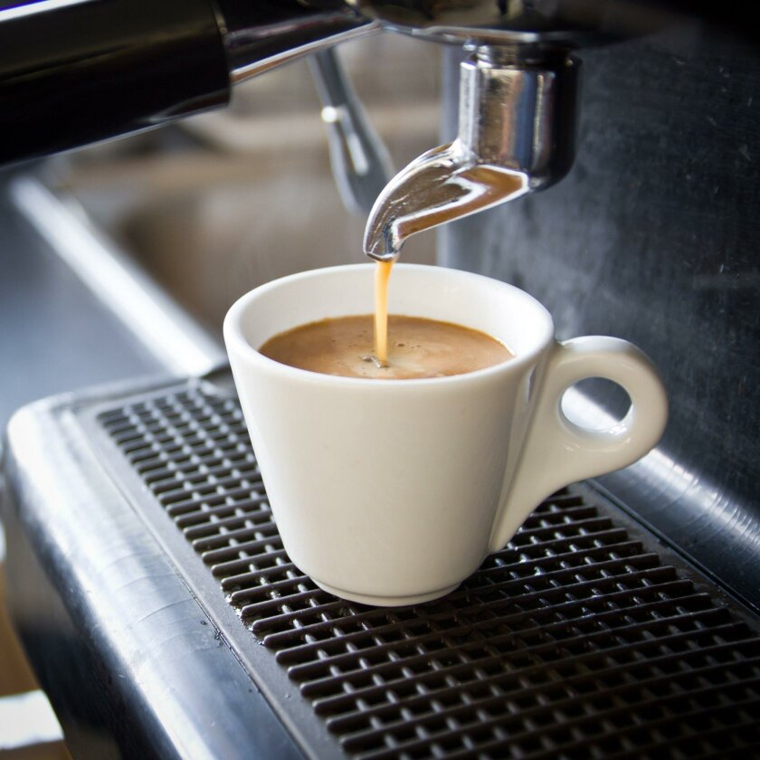 Know how much caffeine you are consuming. For example, an espresso has about 64 mg of caffeine per fluid ounce.
