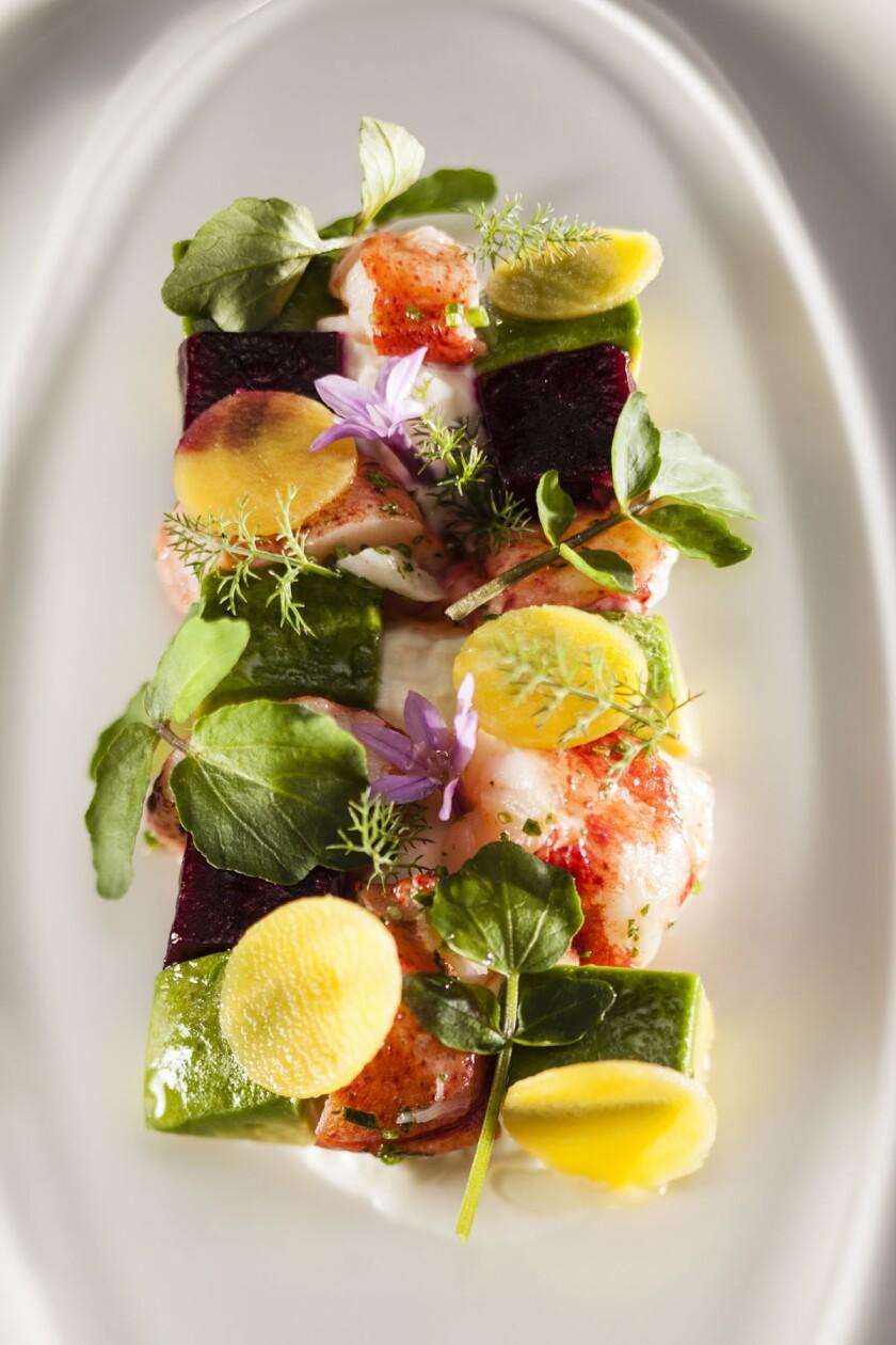 Lobster Salad from Veladora. (Courtesy photo)