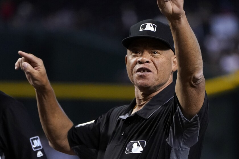MLB umpire Kerwin Danley is the first African American crew chief in league history.