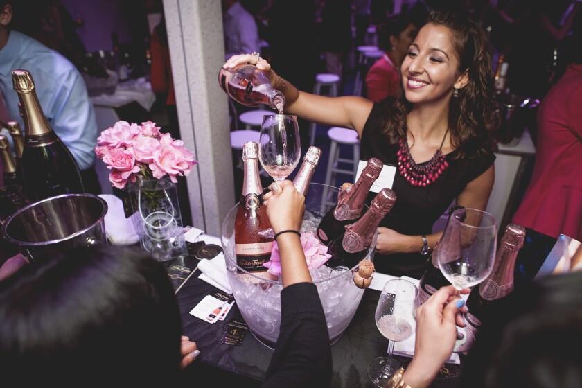 Revel in pink wines at Nuit en Rosé tasting