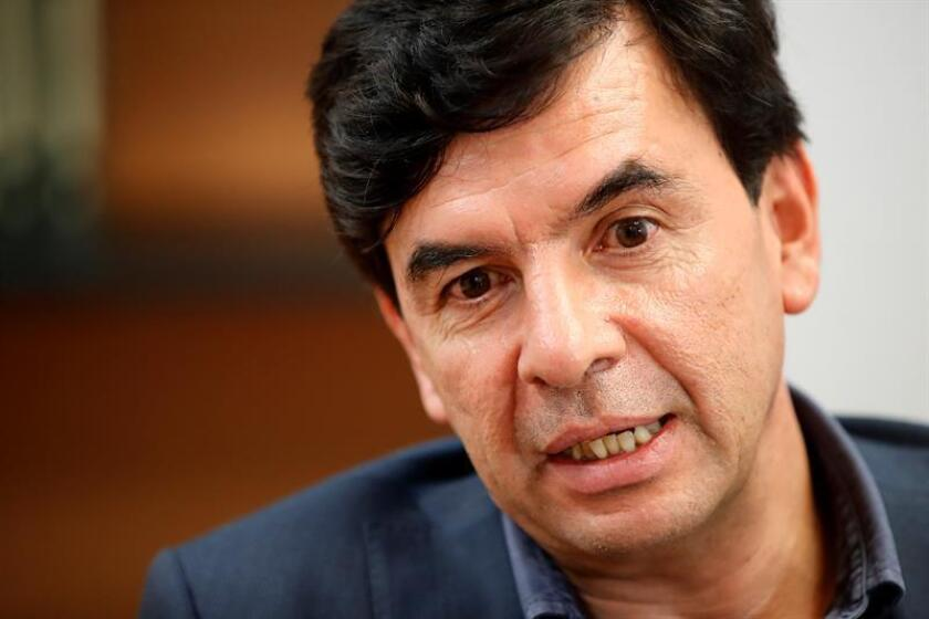 Fotografía que muestra a Jesús Ramírez Cuevas, próximo coordinador general de Comunicación Social del gobierno de Andrés Manuel López Obrador. EFE/Archivo