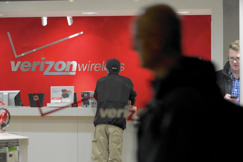 Though customers are still coming through Verizon's doors at a good pace, they're paying less because of promotional offers.