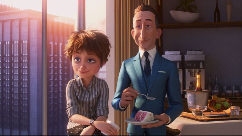 "OPPORTUNITY KNOCKS - In ""Incredibles 2,"" siblings Winston and Evelyn Deavor are huge fans of the Sup"