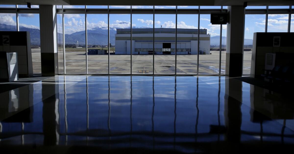 San Bernardino αεροδρόμιο φορτίου επέκταση έχει εγκριθεί σε μια ξαφνική ψηφοφορία