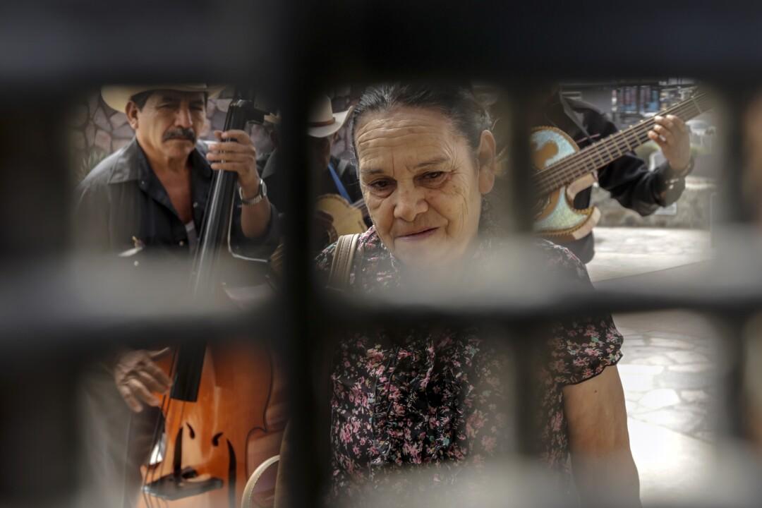 Standing on Mexican, Eva Arguello, 71
