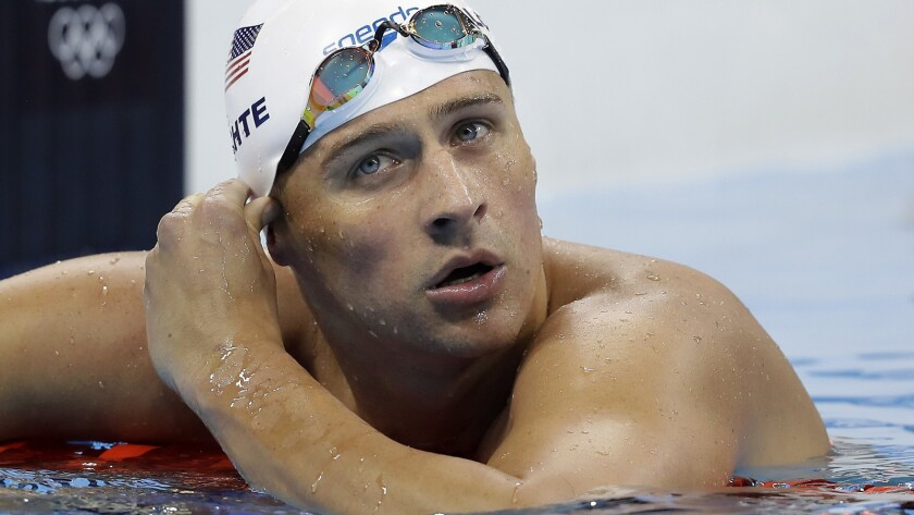 American swimmer Ryan Lochte has been charged by Brazilian police with filing a false robbery report.