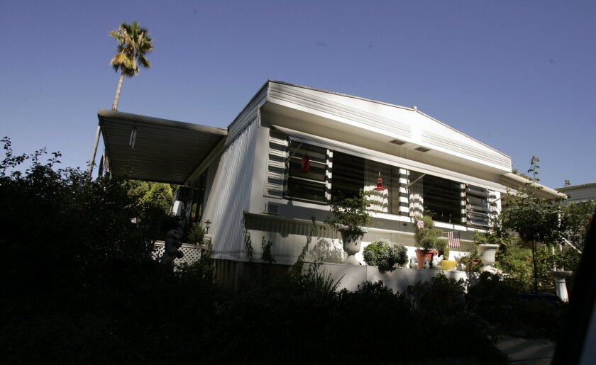 Mobile Home Rent Hike Request Rouses Santee The San Diego