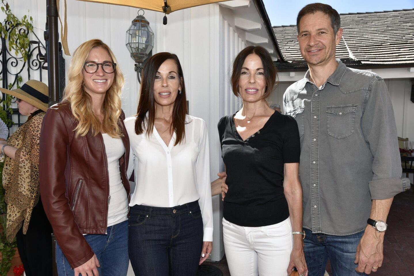 Meghan Parsons, Cheri Salyers, Terri and Charlie Chivetta
