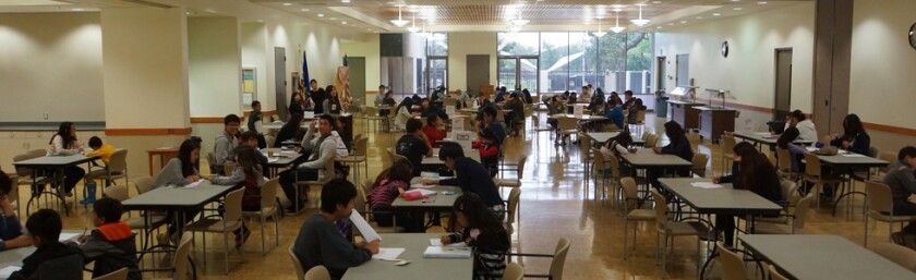 Young Leaders of Orange County volunteers would gather to tutor low-income students.