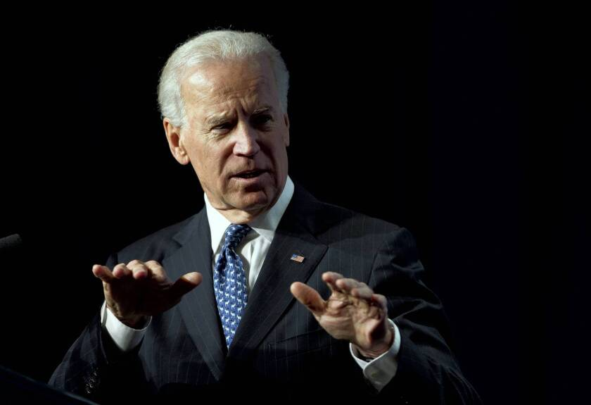 """Vice President Joe Biden, speaking to the U.S. Conference of Mayors on gun policy, said: """"We're going to take this fight to the halls of Congress…. We're going to take it to the American people."""""""